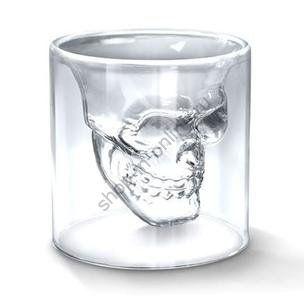 Рюмка хрустальный череп