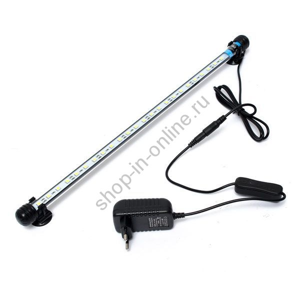 Лампа водонепроницаемая  для аквариума  48 см 1 шт
