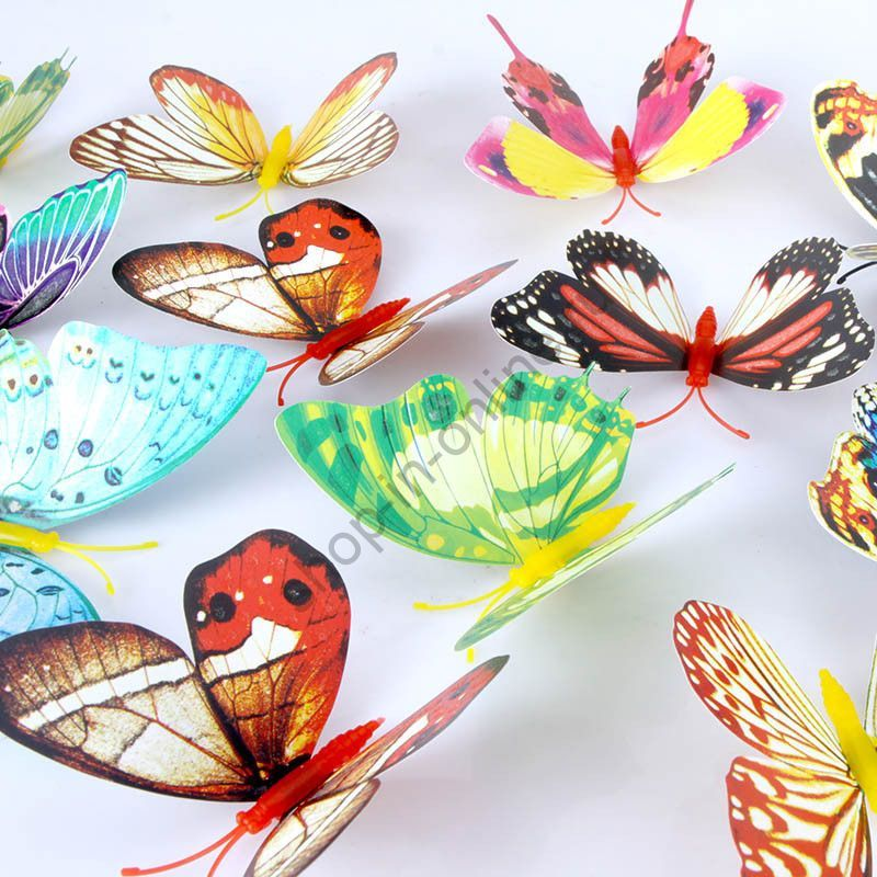 Африканские бабочки 20 шт. H9720