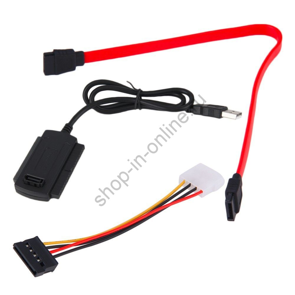 SATA / PATA / IDE USB 2.0 адаптер